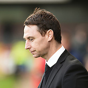 Notts County manager Jamie Fullarton during the Sky Bet League 2 match between Crawley Town and Notts County at the Checkatrade.com Stadium, Crawley, England on 16 January 2016. Photo by David Charbit.