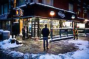 New York, January 2015. Photograph © 2015 Darren Carroll