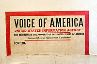 Voice of America broadcast, date unknown.