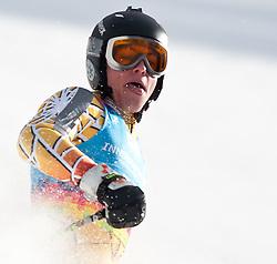 "14.01.2012, Patscherkofel, Innsbruck, AUT, Olympische Jugend Winterspiele, Ski Alpin, Super G, Herren, im Bild Sieger Adam Lamhamedi (MAR) // Winner Adam Lamhamedi (MAR) during the Mens Super G of the Winter Youth Olympic Games at the ""Patscherkofel"", Innsbruck, Austria on 2012/01/14, EXPA Pictures © 2012, PhotoCredit: EXPA/ Juergen Feichter"
