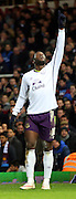 10. Romelu Lukaku (Everton) goal celebration extra time during the The FA Cup match between West Ham United and Everton at the Boleyn Ground, London, England on 13 January 2015. Photo by Matthew Redman.