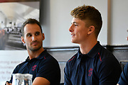 Somerset County Championship captain Tom Abell during the 2019 media day at Somerset County Cricket Club at the Cooper Associates County Ground, Taunton, United Kingdom on 2 April 2019.