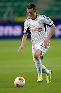 Legia's Miroslav Radovic controls the ball during the UEFA Europa League Group J football match between Legia Warsaw and Apollon Limassol FC at Pepsi Arena Stadium in Warsaw on October 03, 2013.<br /> <br /> Poland, Warsaw, October 03, 2013<br /> <br /> Picture also available in RAW (NEF) or TIFF format on special request.<br /> <br /> For editorial use only. Any commercial or promotional use requires permission.<br /> <br /> Mandatory credit:<br /> Photo by © Adam Nurkiewicz / Mediasport
