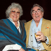 20060214-Ronnie Corbett and wife at LFW Michiko Koshino Fashion Show