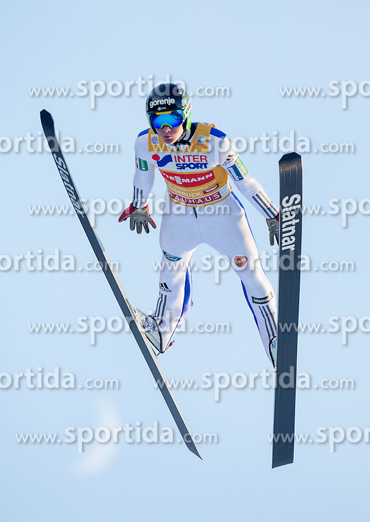03.01.2017, Bergiselschanze, Innsbruck, AUT, FIS Weltcup Ski Sprung, Vierschanzentournee, Innsbruck, Qualifikation, im Bild Domen Prevc (SLO) // Domen Prevc of Slovenia during his Qualification Jump for the Four Hills Tournament of FIS Ski Jumping World Cup at the Bergiselschanze in Innsbruck, Austria on 2017/01/03. EXPA Pictures © 2017, PhotoCredit: EXPA/ Jakob Gruber
