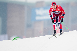 Martin Johnsrud Sundby of Norway during mens 10km Classic individual start of the Tour de Ski 2014 of the FIS cross country World cup on January 4th, 2014 in Cross Country Centre Lago di Tesero, Val di Fiemme, Italy. (Photo by Urban Urbanc / Sportida)
