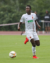 26.07.2015, Prien am Chiemsee, GER, Testspiel, FC Augsburg vs Norwich City, im Bild Abdul Rahman Baba (FC Augsburg #17) spielt den Ball, // during the International Friendly Football Match between FC Augsburg and Norwich City in Prien am Chiemsee, Germany on 2015/07/26. EXPA Pictures © 2015, PhotoCredit: EXPA/ Eibner-Pressefoto/ Krieger<br /> <br /> *****ATTENTION - OUT of GER*****