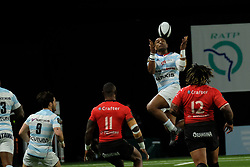 April 8, 2018 - Nanterre, Hauts de Seine, France - Racing 92 Wing JOSEVAT ROKOCOKO in action during the French rugby championship Top 14 match between Racing 92 and RC Toulon at U Arena Stadium in Nanterre - France..Racing 92 Won  17-13. (Credit Image: © Pierre Stevenin via ZUMA Wire)