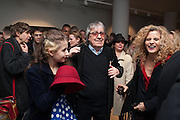 ;KATIE WYMAN,;  BILL WYMAN; SUZANNE WYMAN;  , BILL WYMAN - REWORKED' , Photographs by Bill Wyman and reworks by Gerald Scarfe, Pam Glew, Dale Marshall, Penny and James Mylne, Rook & Raven Gallery: 7-8 Rathbone Place, London. 26 February 2013