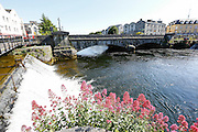 A bridge over the River Corrib in Galway, County Galway, Ireland on Monday, June 24th 2013. (Photo by Brian Garfinkel)
