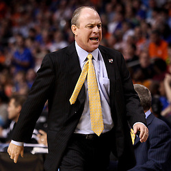 Mar 19, 2011; Tampa, FL, USA; UCLA Bruins head coach Ben Howland during second half of the third round of the 2011 NCAA men's basketball tournament against the Florida Gators at the St. Pete Times Forum. Florida defeated UCLA 73-65.  Mandatory Credit: Derick E. Hingle