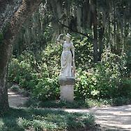Rosedown Plantation statue.