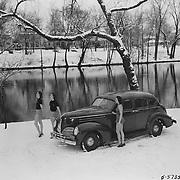 1939 Studebaker Commander Sedan at Leeper Park in South Bend, Indiana.