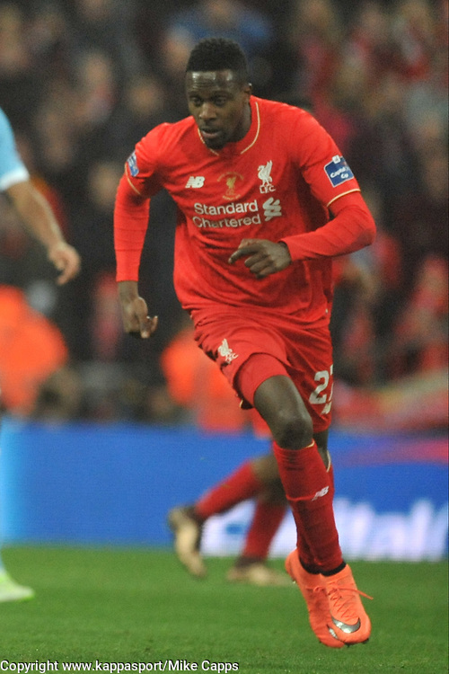 DIVOCK ORIGI LIVERPOOL Liverpool FC v Manchester City FC Capital One Cup Final, Wembley Stadium, Sunday 28th Febuary 2016