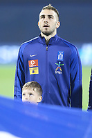 ZAGREB, CROATIA - NOVEMBER 09:  Portrait of Kostas Fortounis of Greece controls the ball during the FIFA 2018 World Cup Qualifier play-off first leg match between Croatia and Greece at Maksimir Stadium on November 9, 2017 in Zagreb, Croatia. (Sanjin Strukic/PIXSELL)