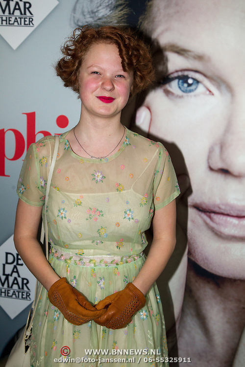 NLD/Amsterdam/20151115 - Premiere Toneelstuk Sophie, Hendrikje Nieuwerf