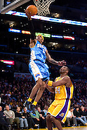 Lakers vs Nuggets 1-5-07