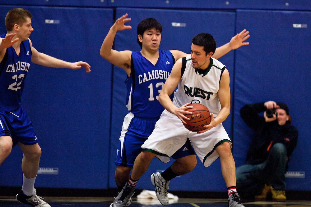Camosun College Chargers Men vs Quest Kermodes