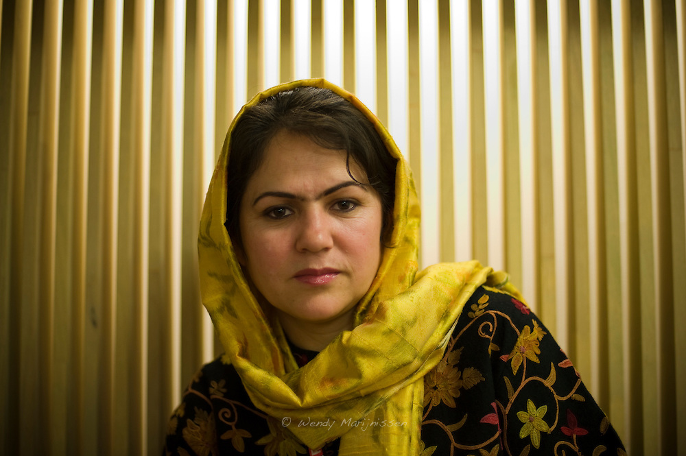Fawzia Koofi was the first woman who became vice-president of the Afghan parliament. A women's rights activist and commited to raise the level of education in her war torn country, Ms. Koofi is a presidential candidate for the upcoming elections in 2014.  Antwerp, Belgium, 2011