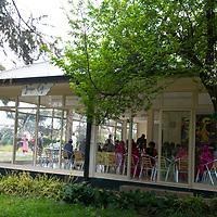 Juniper Cafe coffee shop at Hamlin's Desta Mender