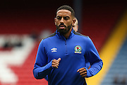 Elliott Bennett of Blackburn Rovers warms up before the EFL Sky Bet Championship match between Blackburn Rovers and Burton Albion at Ewood Park, Blackburn, England on 20 August 2016. Photo by Simon Brady.