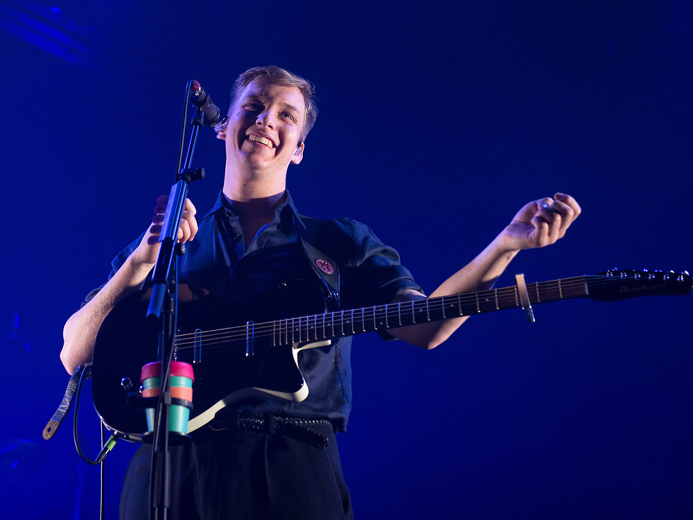 George Ezra in concert at The Usher Hall, Edinburgh, Great Britain 31st March 2018