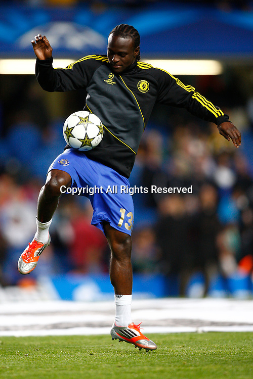 19.09.12 London, ENGLAND: <br /> Victor Moses of Chelsea<br /> during the UEFA Champions League Group E match between Chelsea and  Juventus at Stamford Bridge Stadium
