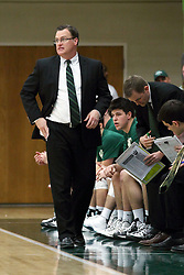 21 February 2015:  Ron Rose during an NCAA men's division 3 CCIW basketball game between the Elmhurst Bluejays and the Illinois Wesleyan Titans in Shirk Center, Bloomington IL