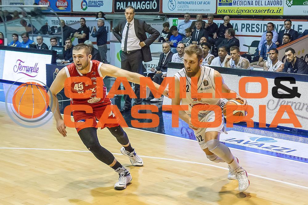 Aleksander Czyz<br /> Pasta Reggia Caserta - The Flexx Pistoia<br /> Lega Basket Serie A 2016/2017<br /> Caserta 24/10/2016<br /> Foto Ciamillo-Castoria