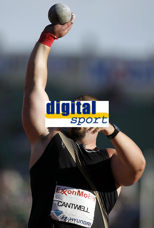 Friidrett, 4. juni 2010,  Diamond League , Bislett Games Oslo<br /> <br /> <br /> Christian Cantwell , USA