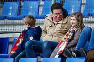 20-12-2015 VOETBAL:WILLEM II-RODA JC:TILBURG<br /> Jonge supporters van Willem II<br /> <br /> Foto: Geert van Erven