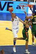 DESCRIZIONE : Madrid Spagna Spain Eurobasket Men 2007 Italia Lituania Itlay Lithuania<br /> GIOCATORE : Matteo Soragna<br /> SQUADRA : Italia Italy <br /> EVENTO : Eurobasket Men 2007 Campionati Europei Uomini 2007 <br /> GARA : Italia Lituania Italy Lithuania<br /> DATA : 08/09/2007 <br /> CATEGORIA : Tiro <br /> SPORT : Pallacanestro <br /> AUTORE : Ciamillo&amp;Castoria/G.CiamilloGalleria : Eurobasket Men 2007 <br /> Fotonotizia : Madrid Spagna Spain Eurobasket Men 2007 Italia Lituania Italy Lithuania<br /> Predefinita :