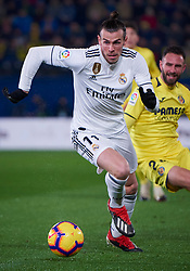 January 3, 2019 - Villarreal, U.S. - VILLARREAL, SPAIN - JANUARY 03: Gareth Bale, forward of Real Madrid in action with the ball during the La Liga match between Villarreal CF and Real Madrid CF at Estadio de la Ceramica on January 03, 2018 in Villarreal, Spain. (Photo by Carlos Sanchez Martinez/Icon Sportswire) (Credit Image: © Carlos Sanchez Martinez/Icon SMI via ZUMA Press)