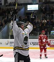 GET-ligaen Ice Hockey, 27. october 2016 ,  Stavanger Oilers v Stjernen<br />Tommy Kristiansen fra Stavanger Oilers feirer skåring ett mål v Stjernen<br />Foto: Andrew Halseid Budd , Digitalsport