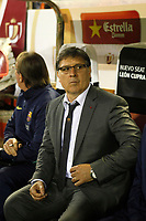 F.C. Barcelona´s coach Tata Gerardo Martino during the Spanish Copa del Rey `King´s Cup´ final soccer match between Real Madrid and F.C. Barcelona at Mestalla stadium, in Valencia, Spain. April 16, 2014. (ALTERPHOTOS/Victor Blanco)