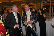 RICHARD EATON AND Count Andrei Tolstoy. War and Peace charity Ball, Dorchester Hotel. Park Lane. London. 17 February 2005. ONE TIME USE ONLY - DO NOT ARCHIVE  © Copyright Photograph by Dafydd Jones 66 Stockwell Park Rd. London SW9 0DA Tel 020 7733 0108 www.dafjones.com