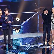 NLD/Hilversum/20151218 - The Voice of Holland 2015 - 3de liveshow, Ivar Vermeulen en Maan de Steenwinkel