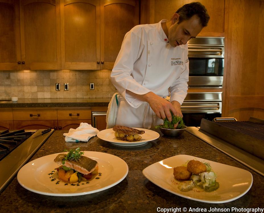 Roger Sleiman, Old Vines Restaurant Chef , Quail's Gate, Okanagan, British Columbia, Canada