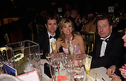 Grant Bovey, Anthea turner and Ian Monk' Hats off to Barbados'  Ball. the Natural history Museum. 22 November 2004.  SUPPLIED FOR ONE-TIME USE ONLY> DO NOT ARCHIVE. © Copyright Photograph by Dafydd Jones 66 Stockwell Park Rd. London SW9 0DA Tel 020 7733 0108 www.dafjones.com