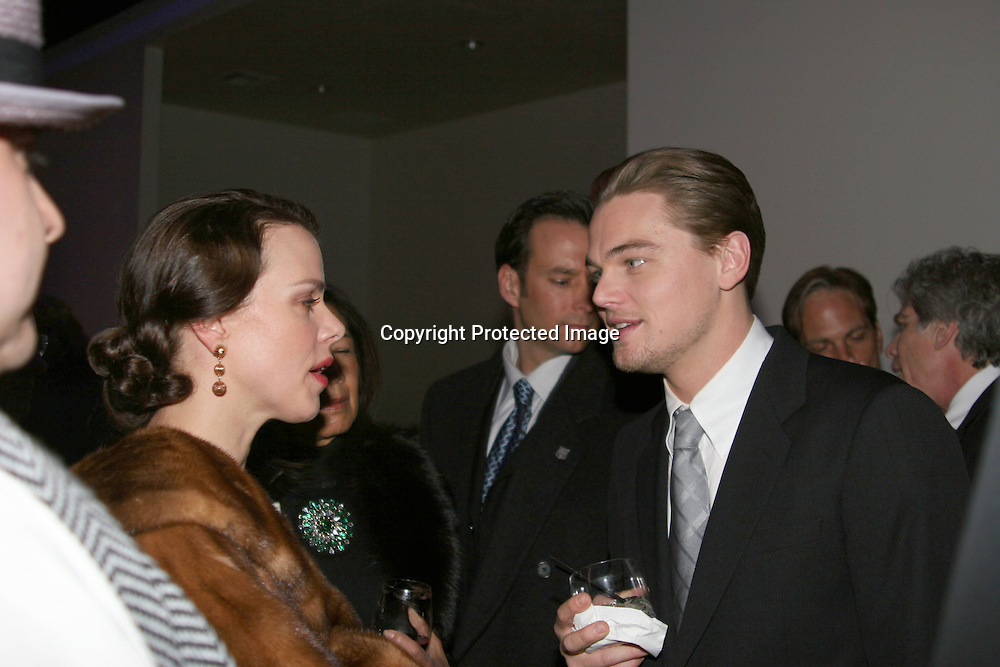 Debi Mazar &amp; Leonardo DiCaprio <br />