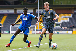 Callum Elder of Leicester City controls the ball - Mandatory by-line: Ryan Crockett/JMP - 21/07/2018 - FOOTBALL - Meadow Lane - Nottingham, England - Notts County v Leicester City - Pre-season friendly