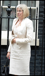 Home Secretary Theresa May  leaves  No10 Downing Street after the Government's weekly Cabinet meeting, London, United Kingdom. Tuesday, 3rd September 2013. Picture by Andrew Parsons / i-Images
