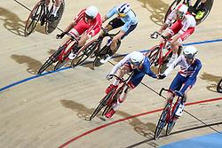 March 4, 2018 - Apeldoorn, Netherlands - Oliwer Wood, Mark Stewart (GBR) - Men's madison .during UCI Track Cycling World Championships Apeldoorn 2018, in Apeldoorn, Netherlands, on March 4, 2018. (Credit Image: © Foto Olimpik/NurPhoto via ZUMA Press)