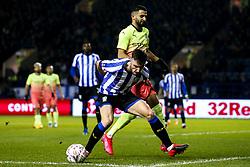 Morgan Fox of Sheffield Wednesday takes on Riyad Mahrez of Manchester City - Mandatory by-line: Robbie Stephenson/JMP - 04/03/2020 - FOOTBALL - Hillsborough - Sheffield, England - Sheffield Wednesday v Manchester City - Emirates FA Cup fifth round
