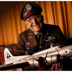 Roy Test ,85, of Baldwin Park was a co-pilot during World War II flying over thirty missions in a B-17 in Europe for  the U.S. Air Force August 31. 2006.