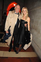 BARON THIERRY VAN ZUYLEN and SABINA MCTAGGART at the 2nd Fortune Forum Summit and Gala Dinner held at the Royal Courts of Justice, The Strand, London on 30th November 2007.<br />