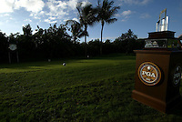 PGA Grand Slam, Poipu Bay, Hawaii, December 2003