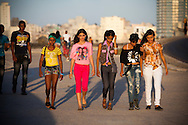 Youth at Malecon-Havana, Cuba