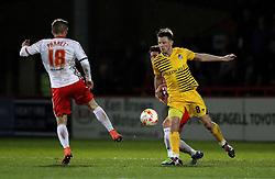 Ollie Clarke of Bristol Rovers tries to reach the ball - Mandatory by-line: Robbie Stephenson/JMP - 19/04/2016 - FOOTBALL - Lamex Stadium - Stevenage, England - Stevenage v Bristol Rovers - Sky Bet League Two