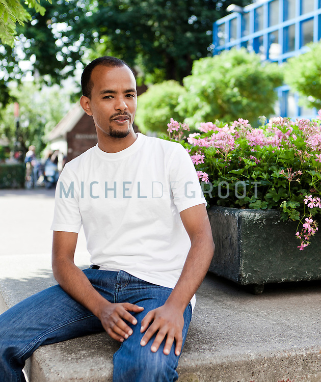 Fitsum Gebremichael Tiche, Law student at the University of Groningen